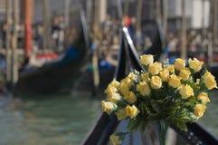 Romance en Venecia fotos de archivo