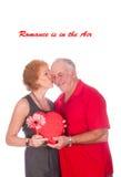 Romance est dans le ciel Photo stock
