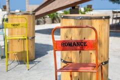 Romance et confiance Photographie stock libre de droits