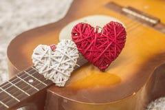 Romance et musique Photos libres de droits