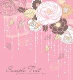 Romance flower background Royalty Free Stock Image
