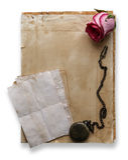 Romance, fondo retro Imágenes de archivo libres de regalías