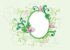 Romance frame Stock Image