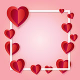 Romance frame Royalty Free Stock Photo