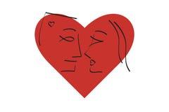 Romance III ilustração stock