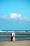 Romance in Meer Lizenzfreie Stockfotografie