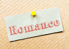 Romance Message Stock Image