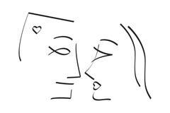 Romance mim ilustração do vetor
