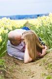 Romance na sujeira Imagens de Stock