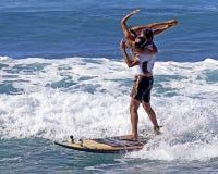 Romance nos mares altos Imagem de Stock Royalty Free