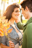 Romance In The Park Royalty Free Stock Image