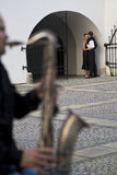 Romance pensativo Fotos de archivo libres de regalías
