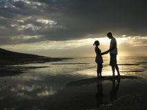 Romance rígido Fotos de archivo libres de regalías