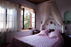 Romance Schlafzimmer Stockfoto