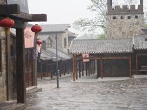 Romance of the three kingdom park. Travel in Wuhan , China in 2014, 18th April. Romance of the three kingdom park. Travel in Wuhan , Hubei Province , China in stock images