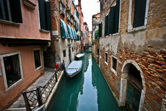 Romance in Venice Royalty Free Stock Photos