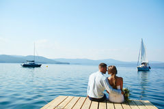 Romance Wedding Fotografia Stock