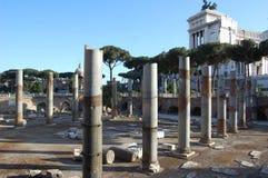 RomancolumnsTrajan Lizenzfreie Stockbilder