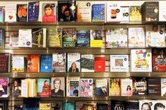 Romaner i boklager Royaltyfria Foton