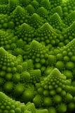 Romanesco. Detail shot of romanesco cauliflower Royalty Free Stock Photography