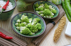 Romanesco Broccoli Royalty Free Stock Photos