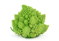 Romanesco cabbage hybrid. Romanesco cabbage iolsted on white background Royalty Free Stock Images