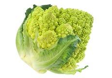 Romanesco cabbage on white Royalty Free Stock Photos