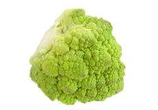 Romanesco cabbage on white Stock Photos