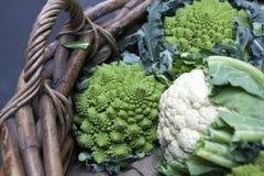 Romanesco cauliflower with its fractal shapes and Fibonacci sequ Royalty Free Stock Photo