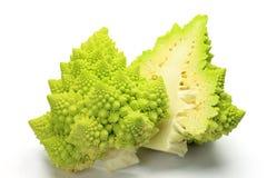 Romanesco di Broccolo Fotografie Stock