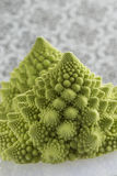 Romanesco Florets in a logarithmic spiral Stock Photography