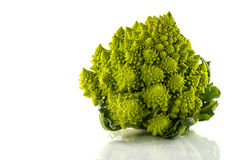 Romanesco or green cauliflower Royalty Free Stock Images