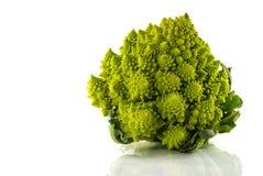 Romanesco or green cauliflower Royalty Free Stock Images