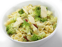Romanesco and pasta Royalty Free Stock Image