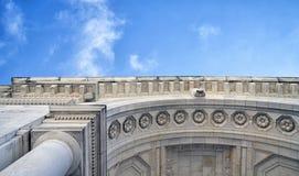 Romanesque αψίδα Στοκ εικόνες με δικαίωμα ελεύθερης χρήσης