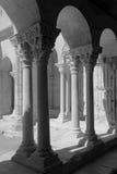 Romanesque αψίδες Στοκ εικόνες με δικαίωμα ελεύθερης χρήσης