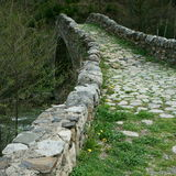 Romanesque γέφυρα Λα Margineda Στοκ φωτογραφία με δικαίωμα ελεύθερης χρήσης