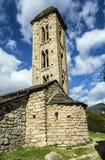 Romanesque εκκλησία Sant Miquel dï ¿ ½ Engolasters, Ανδόρα Στοκ εικόνες με δικαίωμα ελεύθερης χρήσης