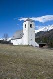Romanesque εκκλησία ST Nikolaus, Matrei, Αυστρία Στοκ Φωτογραφίες