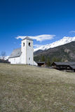 Romanesque εκκλησία ST Nikolaus, Matrei, Αυστρία Στοκ εικόνες με δικαίωμα ελεύθερης χρήσης