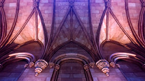Romanesque κάστρο Στοκ εικόνα με δικαίωμα ελεύθερης χρήσης