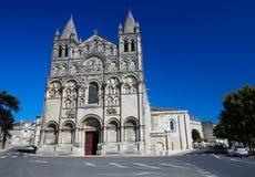 Romanesque καθεδρικός ναός του Angouleme, Γαλλία Στοκ Εικόνα