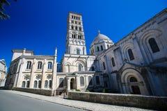 Romanesque καθεδρικός ναός του Angouleme, Γαλλία Στοκ Φωτογραφία