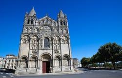 Romanesque καθεδρικός ναός του Angouleme, Γαλλία Στοκ Φωτογραφίες