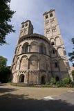 romanesque πύργοι δύο Στοκ Φωτογραφίες