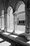 Romanesque στήλες Στοκ φωτογραφία με δικαίωμα ελεύθερης χρήσης