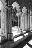 Romanesque στήλες Στοκ φωτογραφίες με δικαίωμα ελεύθερης χρήσης