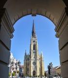 romanesque ύφος Τοσκάνη της Ευρώπης Ιταλία Πίζα καθεδρικών ναών Στοκ εικόνα με δικαίωμα ελεύθερης χρήσης