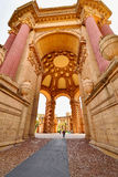 Romanesque architecture in San Francisco Palace of Fine Arts Royalty Free Stock Photography