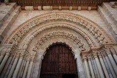 Romanesque archivolts Στοκ Εικόνες